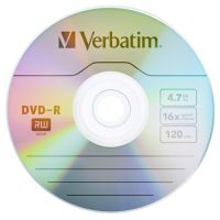 Verbatim DVD+R 4.7GB 16X 100pack
